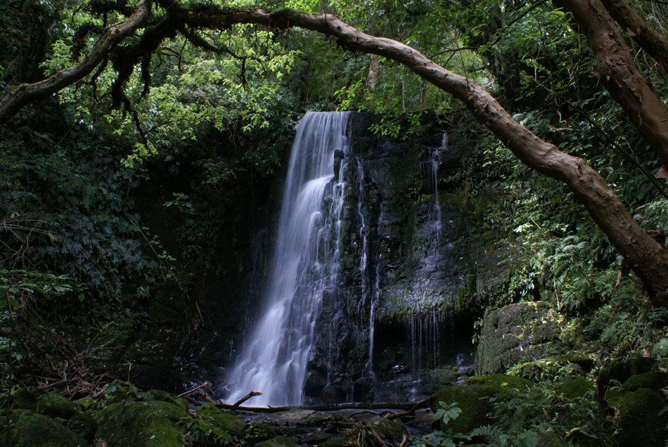 waterfall in NZ