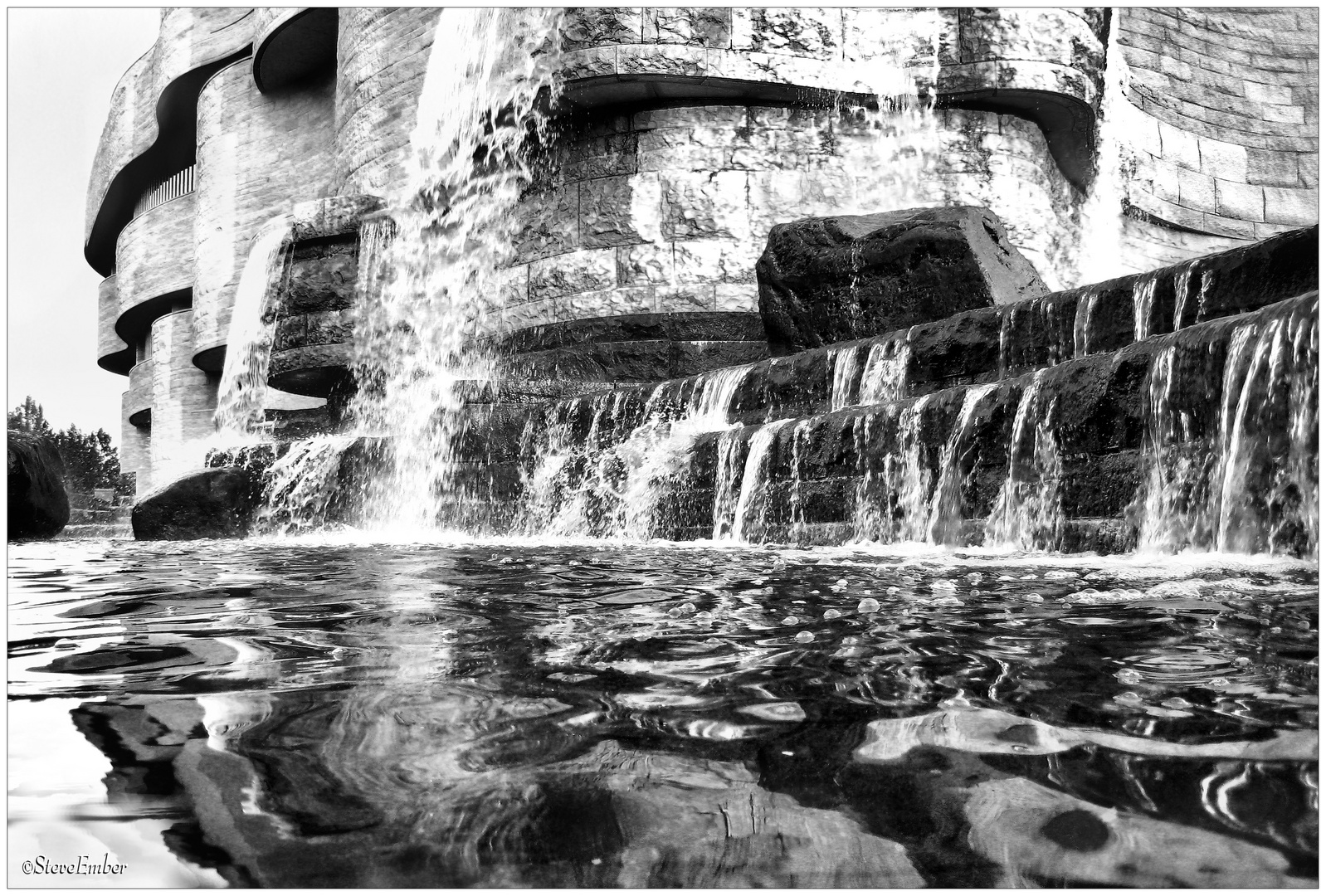 Waterfalls, National Museum of the American Indian