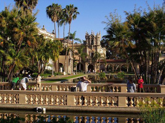 Waterreflexions - Balboa Park