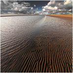 Watt | Meer | Wolken | color