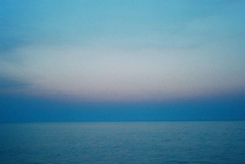 Wattenmeer am Abend
