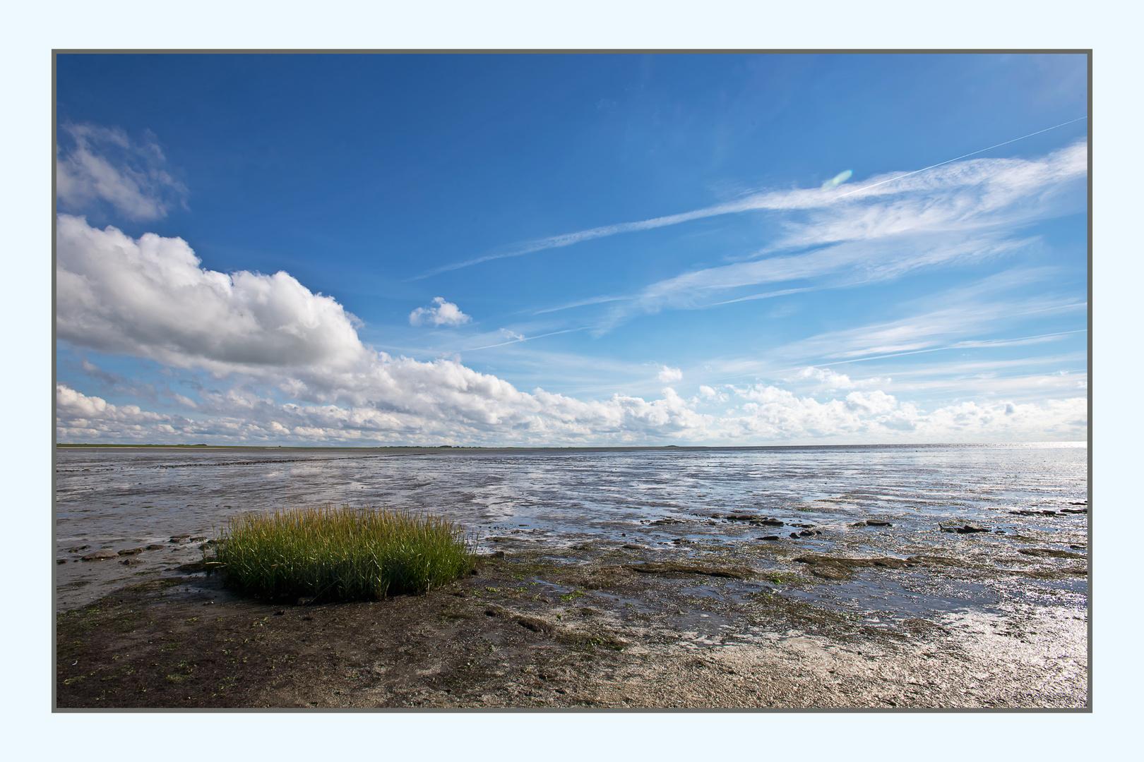 Wattenmeer am Rantumbecken