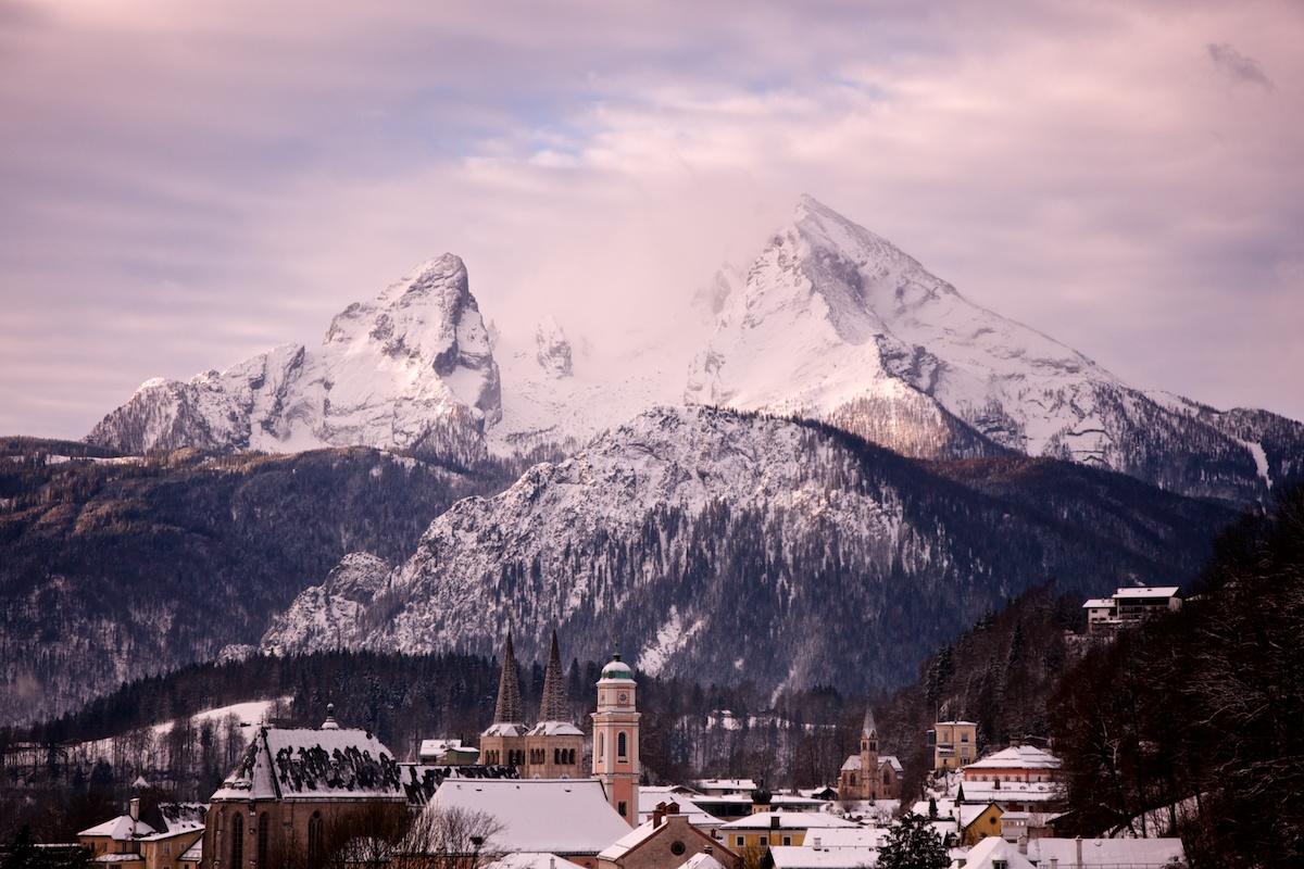 Watzmann über Berchtesgaden