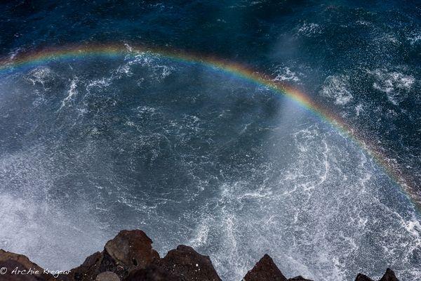 Wave rainbow