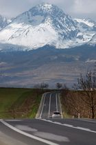 way to High Tatras 3
