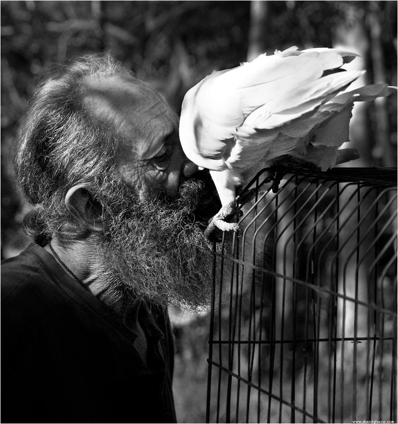 Waza und der Vogel
