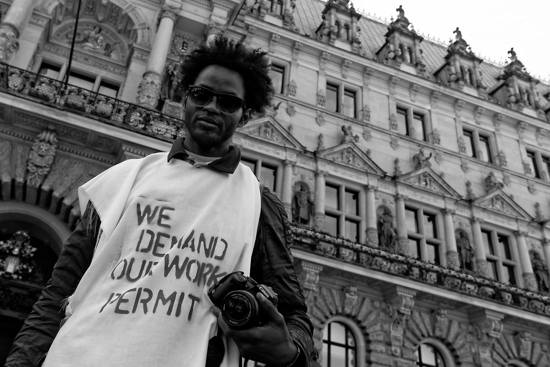 We demand our work permit!