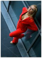 - wearing red III -