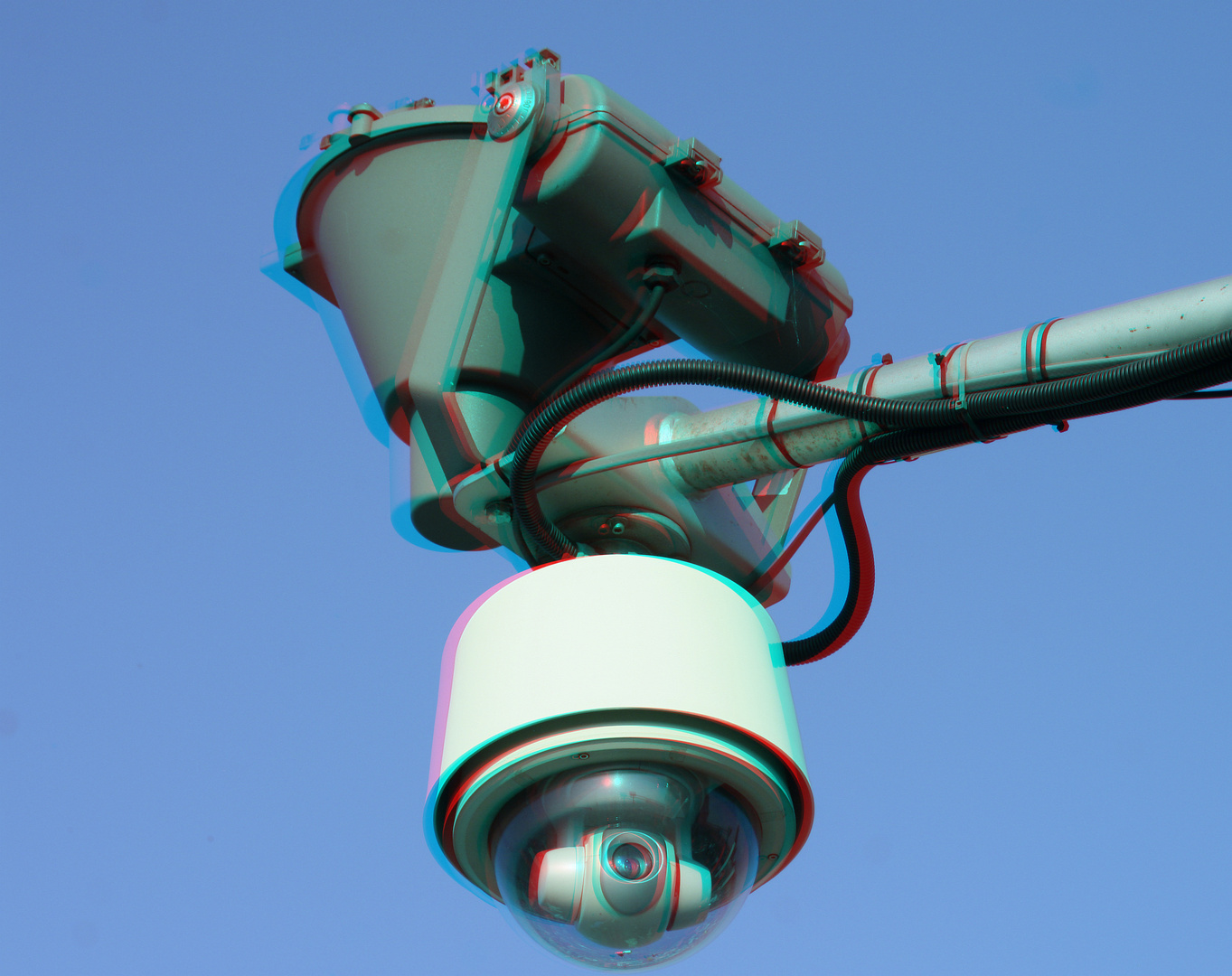 Webcam auf dem Maintower in Frankfurt.....