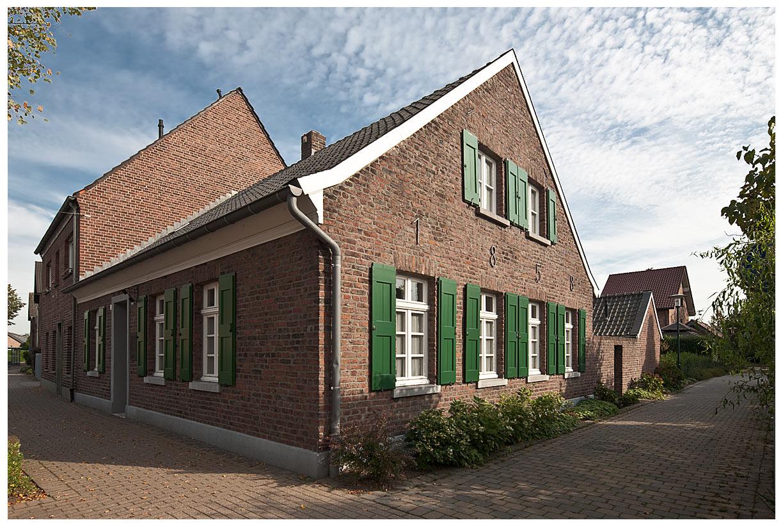 Weberhaus in Kempen   OT St. Hubert