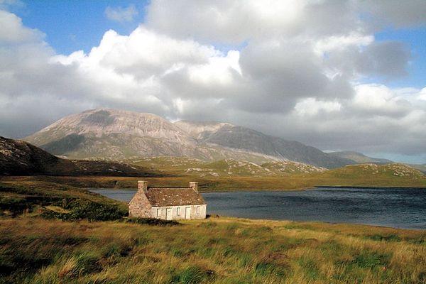 Wechselbad in Schottland