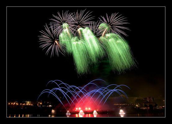 Weco Feuerwerk zur 800 Jahrfeier in Dresden