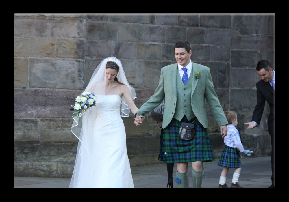 Wedding in St. Andrews (two)