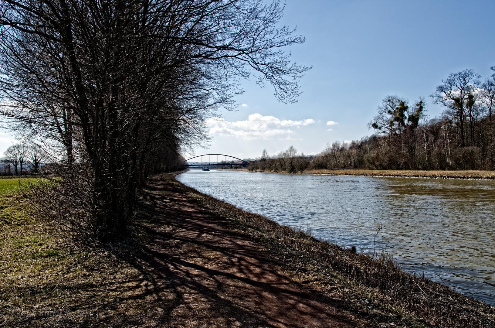 Weg am Wasserweg