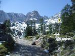 Weg bei Ehrwald/Tirol