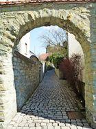 Weg durch die Altstadt