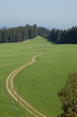 Weg durchs Voralpenland