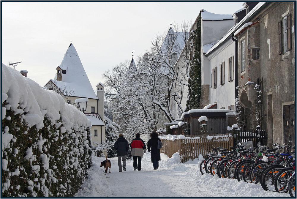 Weg in die Altstadt