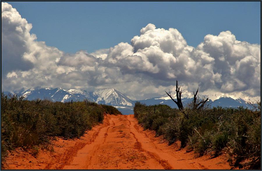 Weg in die La Sale Mountains