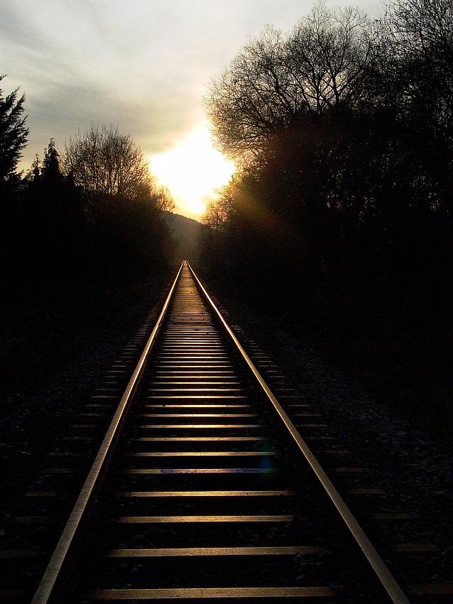 Weg in die Sonne