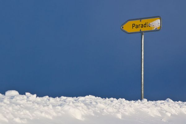 Weg ins Paradies