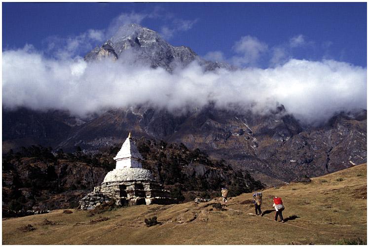 Weg nach Khumjung