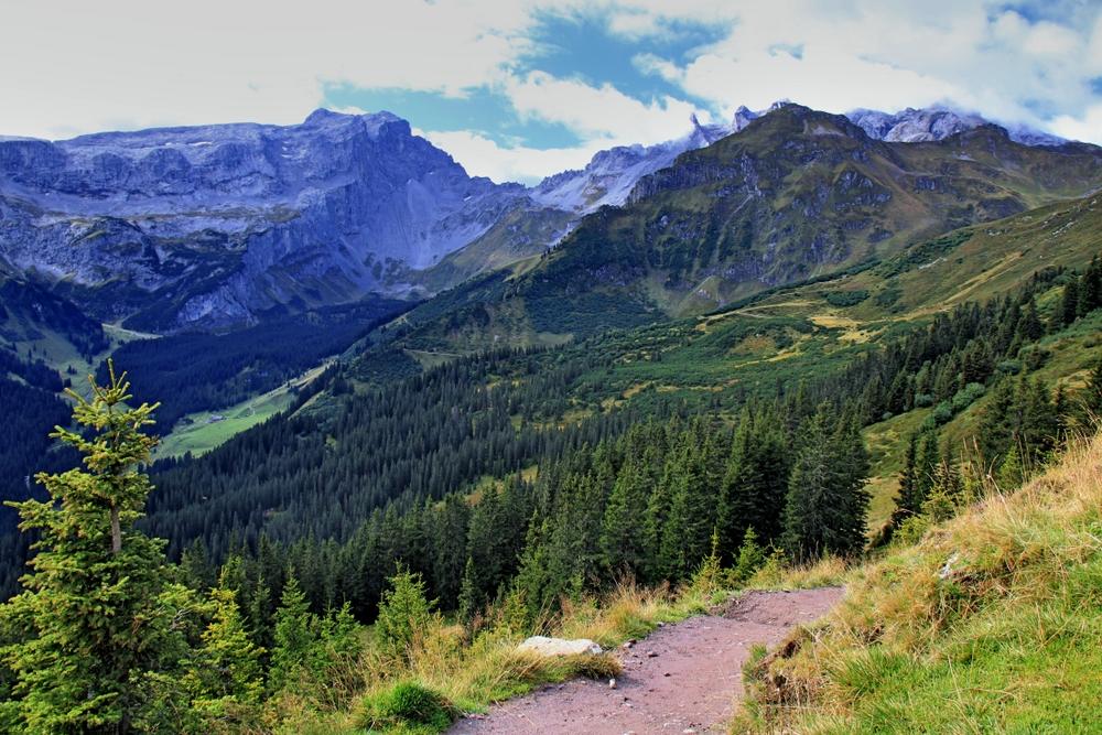Weg vom Golm zur Lindauer Hütte (1)