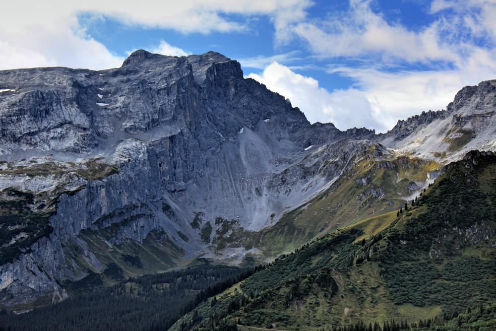 Weg vom Golm zur Lindauer Hütte (2)