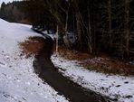 Weg . Winter .. >