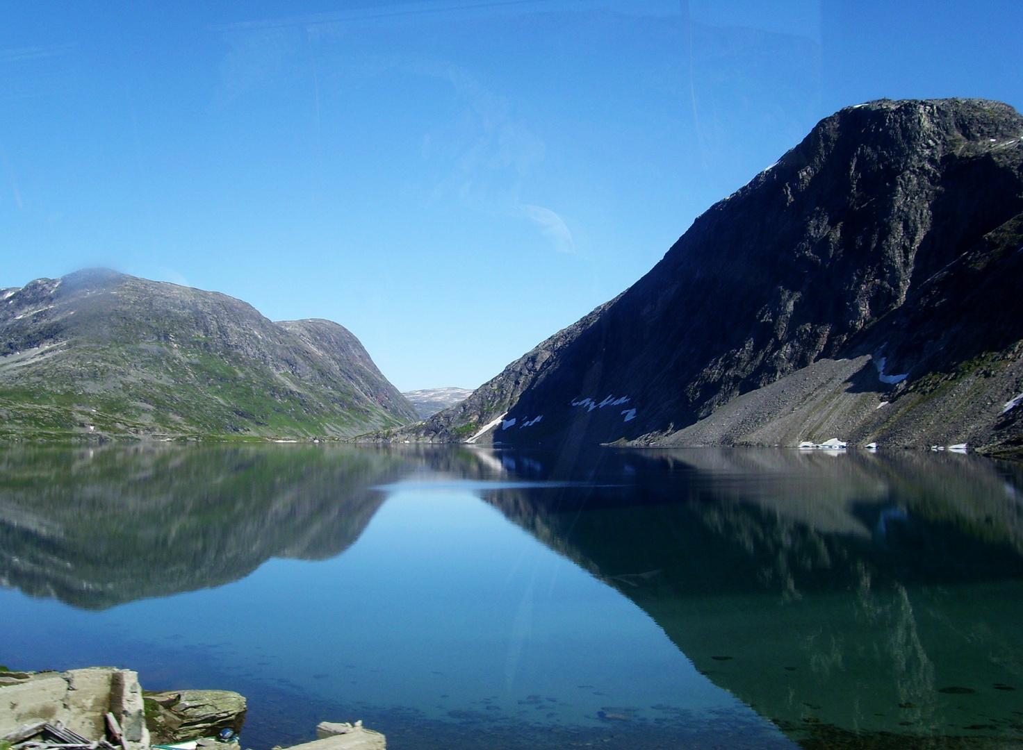 Weg zum Dalsnibba (Norwegen/Geiranger)