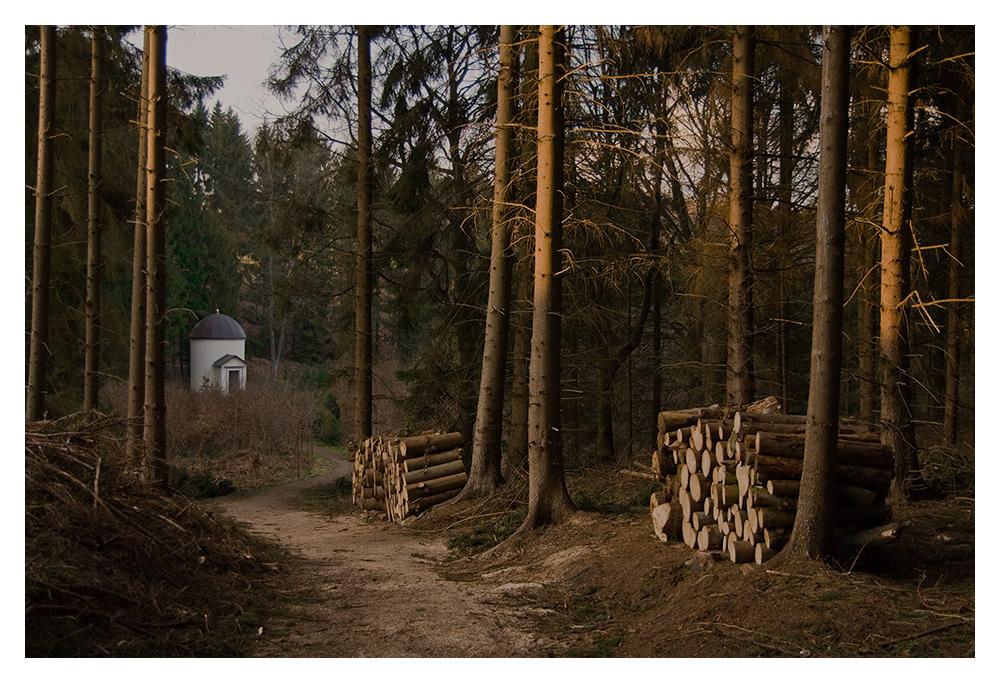 Weg zum Hagartempel