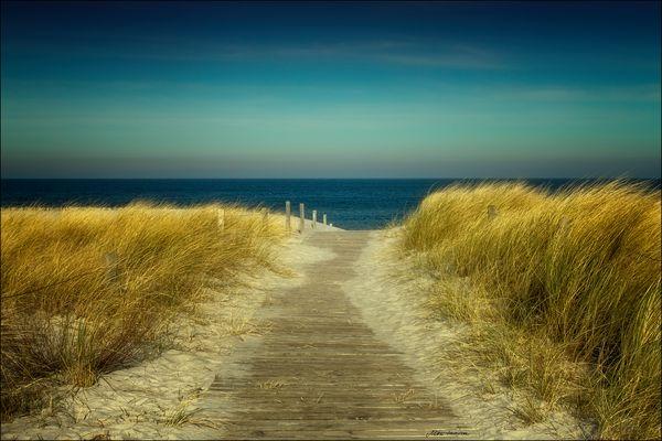 Weg zum Meer ...