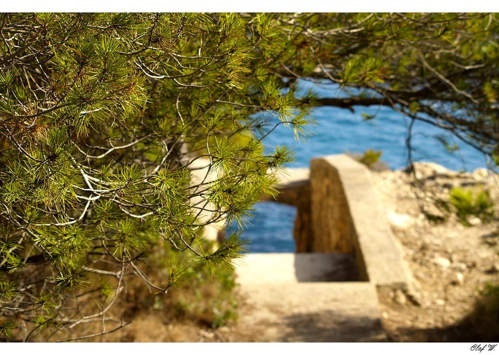 Weg zum Meer