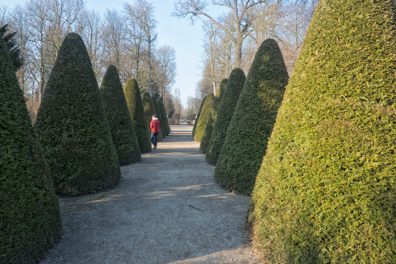 Weg zum Mosscheegarten - Schlosspark Schwetzingen