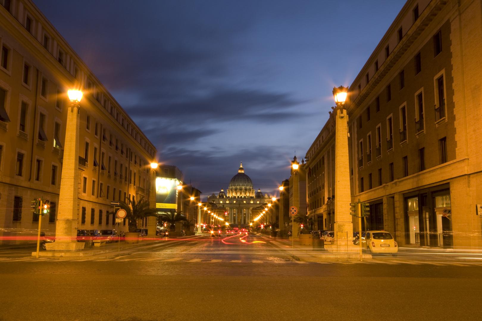 Weg zum Palast