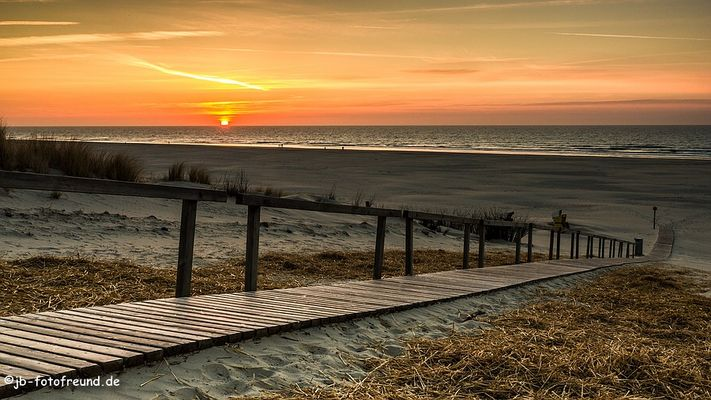 Weg zum Strand_Juist
