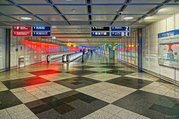Weg zum Terminal 2