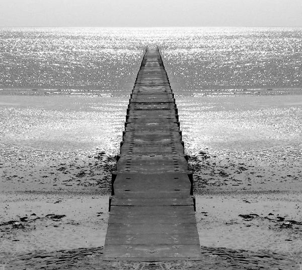 Weg zum Wasser