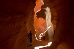 Wege im Licht des Antilope Canyon