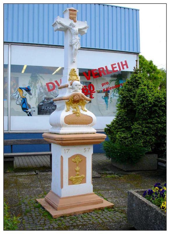 Wegekreuz in Lebach