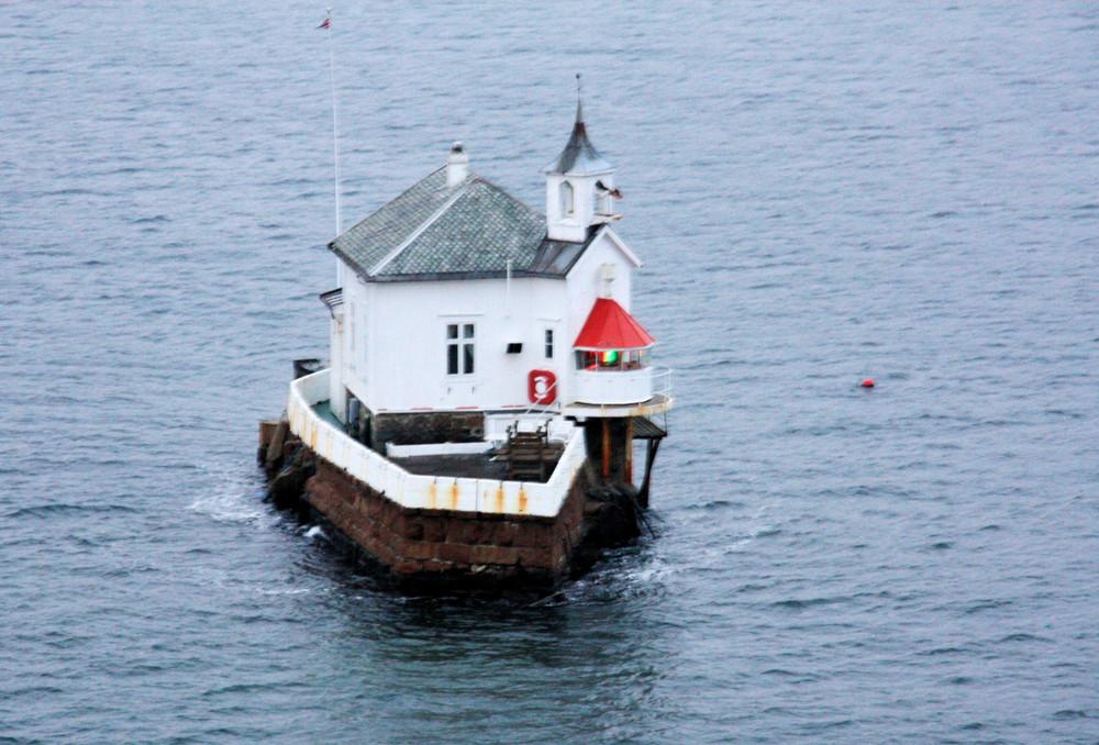 Wegweiser im Oslofjord