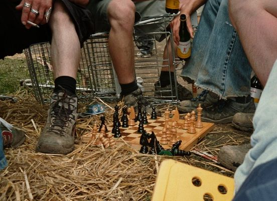 Wegwerf Serie - Schach Party