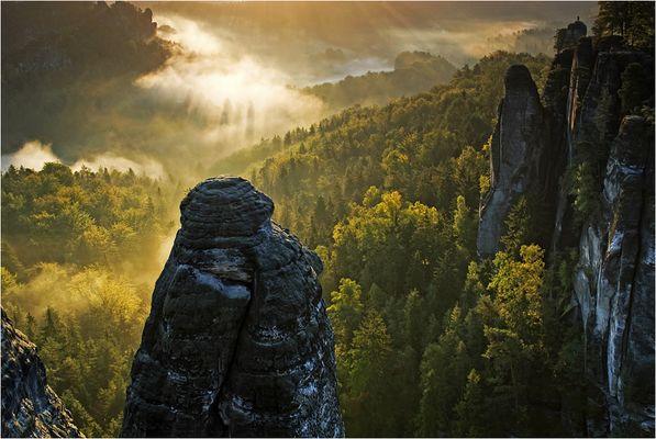 Wehlturm - Bastei - Sächsische Schweiz - Wettbewerb Deutsche Landschaften Platz 12