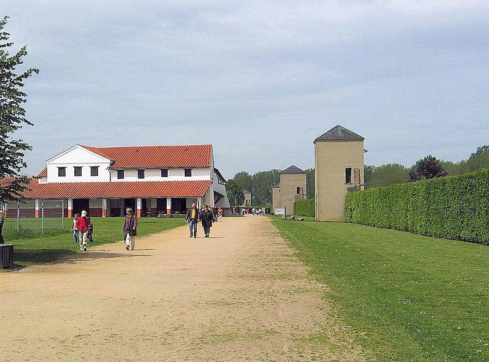Wehranlagen in Xanten (Archäologischer Park )
