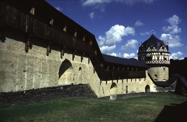 Wehrgang Schloss Burgk
