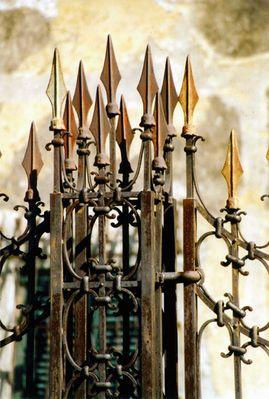 Wehrhafter Rost - ein königlicher Pfeiler