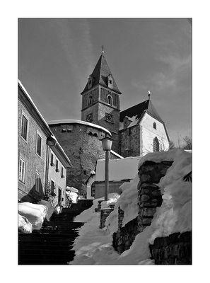 Wehrkirche in Eisenerz