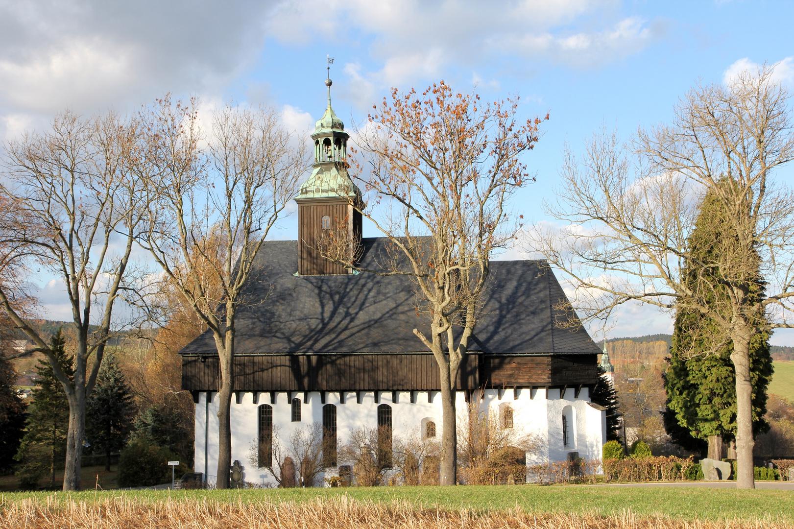 Wehrkirche in Lauterbach (Erzgebirge)