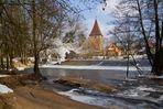 Wehrkirche Katzwang Winterimpressionen 2012 (1)