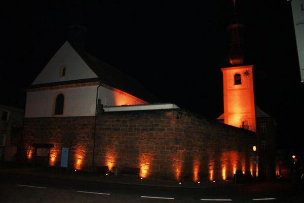 Wehrkirche St. Nikolaus in Pinzberg